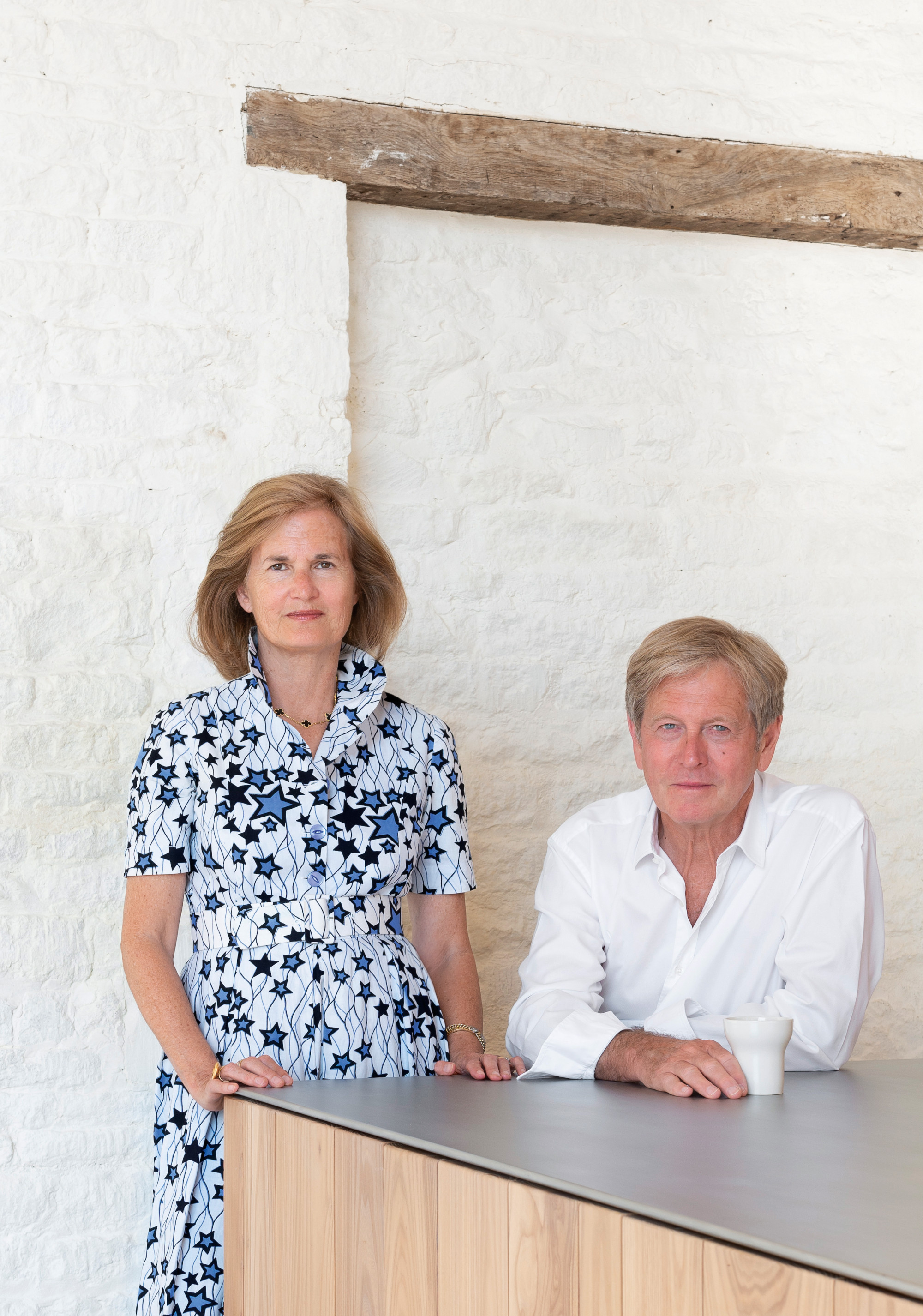 Catherine and John Pawson. All photographs by Gilbert McCarragher