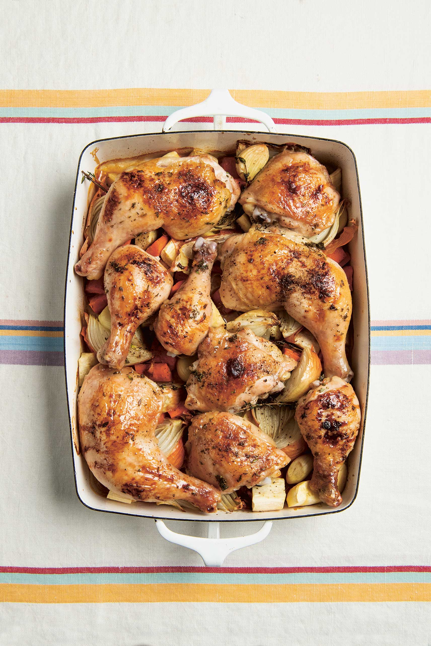 Roast Chicken from The Jewish Cookbook