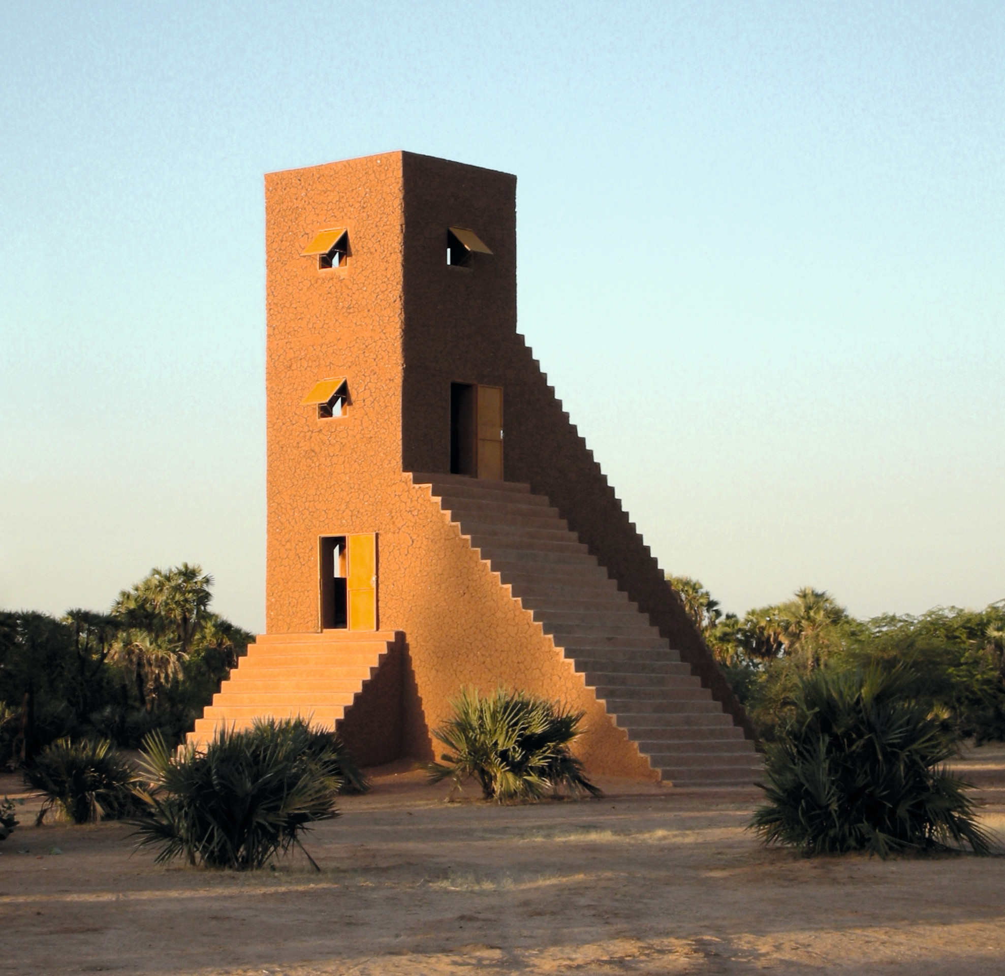 House to Watch the Sunset, 2005, Aladab, near Agadez, Niger, by Not Vital