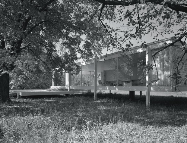 The Farnsworth House, 1945-51 by Mies van der Rohe, from our Mies book