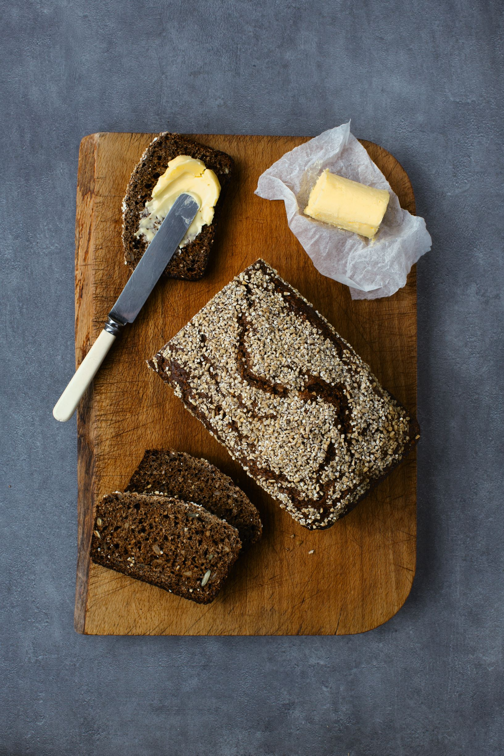 Brown Soda Bread with Stout and Treacle, as featured in The Irish Cookbook