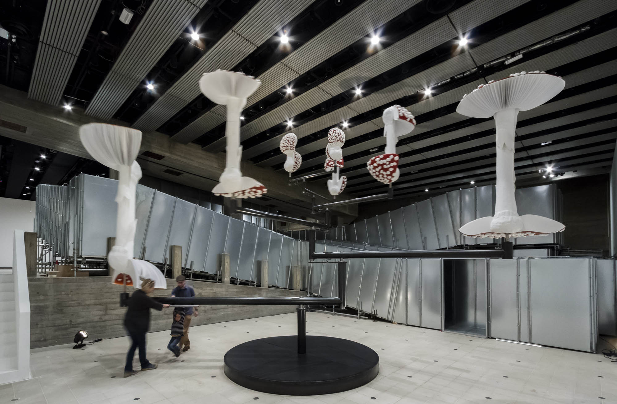 Why this summer is mushroom season at Gagosian