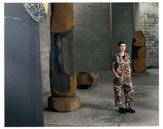 Photo Tina Barney from The Noguchi Museum A Portrait