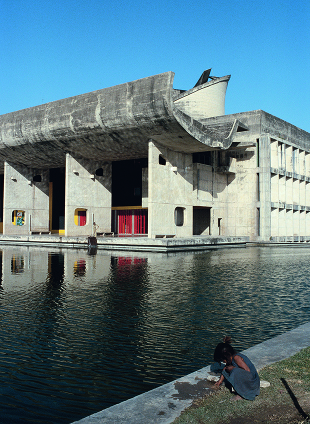 Le Corbusier, atelier and Pierre Jeanneret, Chandigarh, India, 1951–65, the Parliament Building