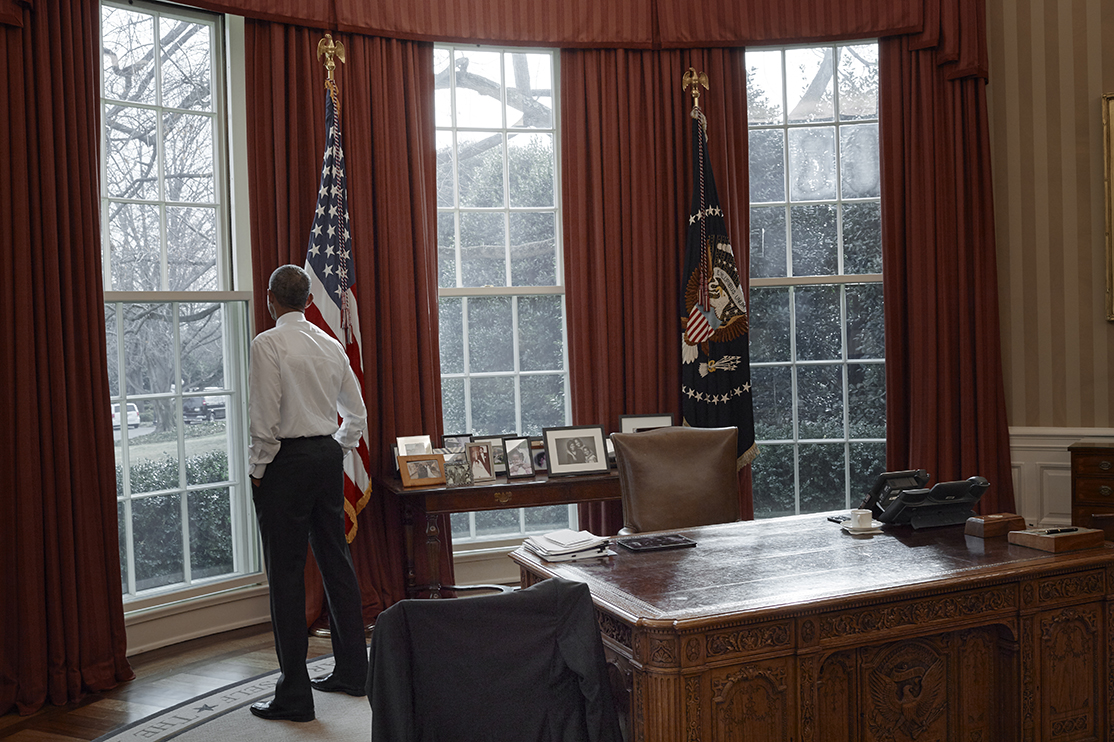 How Annie Leibovitz captured Barack Obama's unease ...
