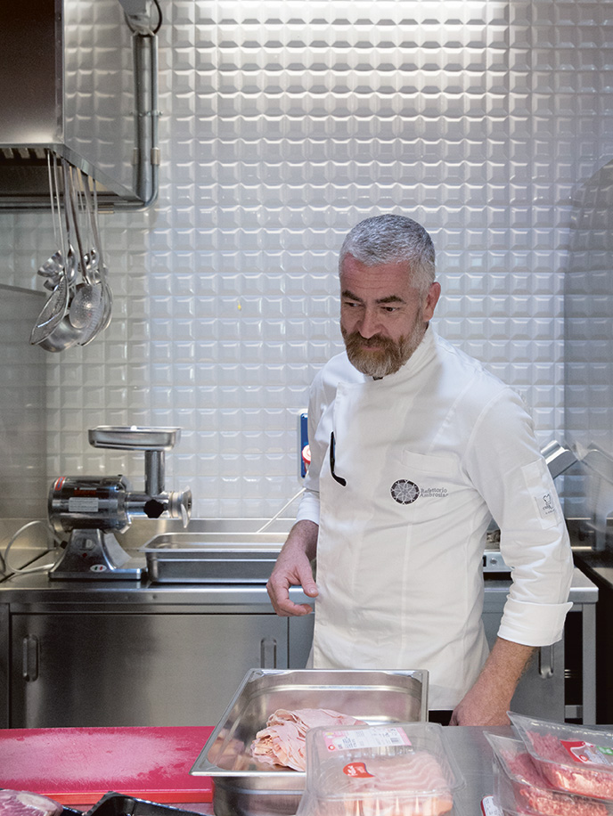 Alex Atala at the Refettorio. As featured in Bread is Gold