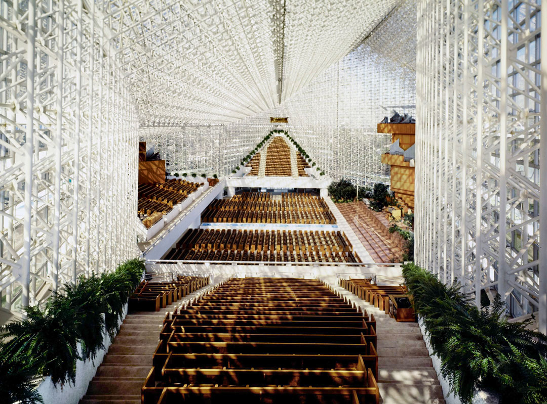 Philip Johnson's religious side