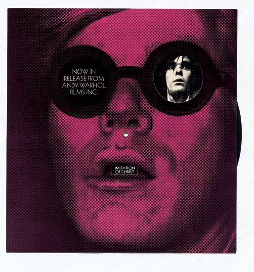 Promotional device advertising Warhol Films (1967)
