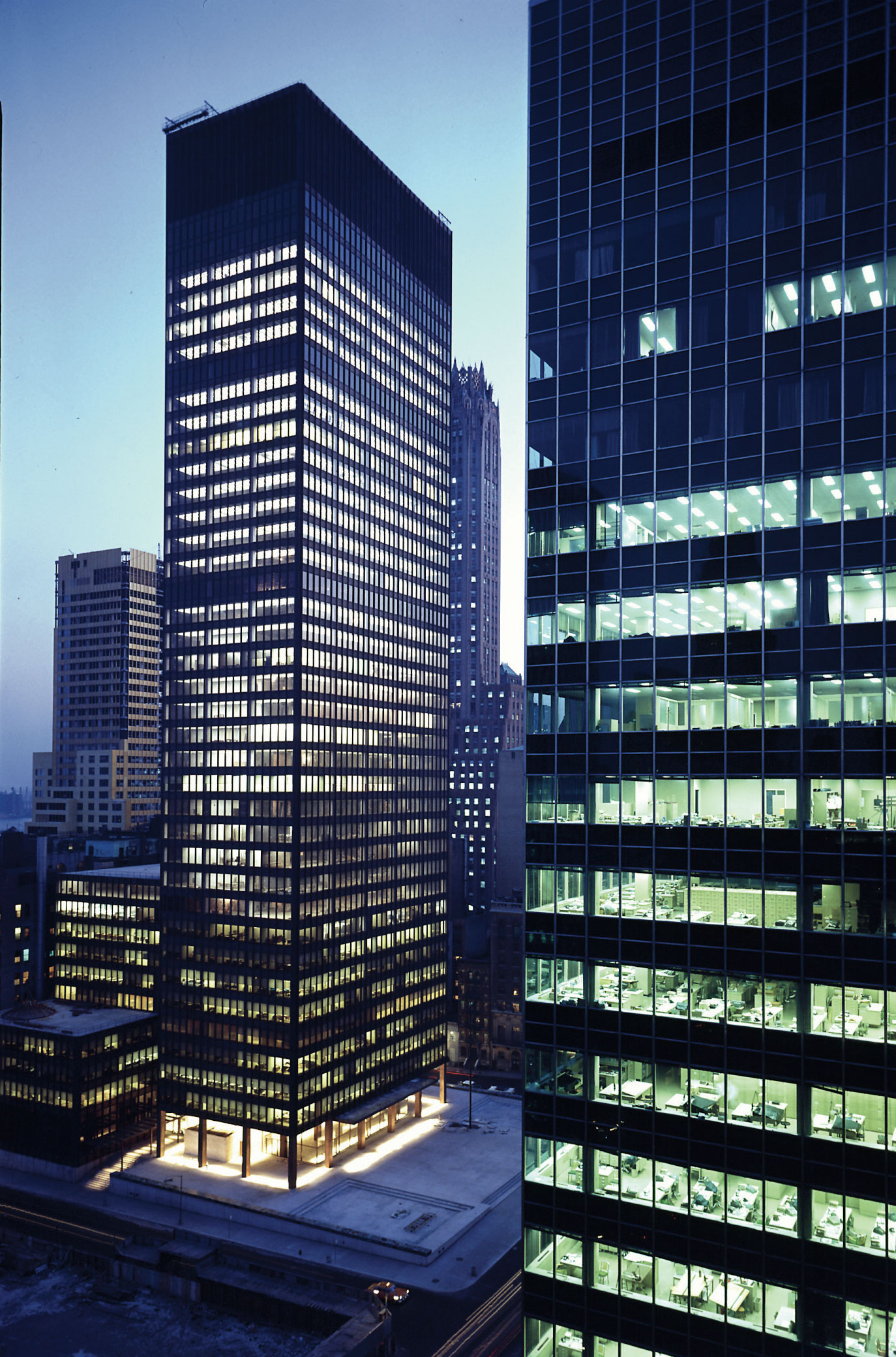 Philip Johnson and the making of the Seagram Building