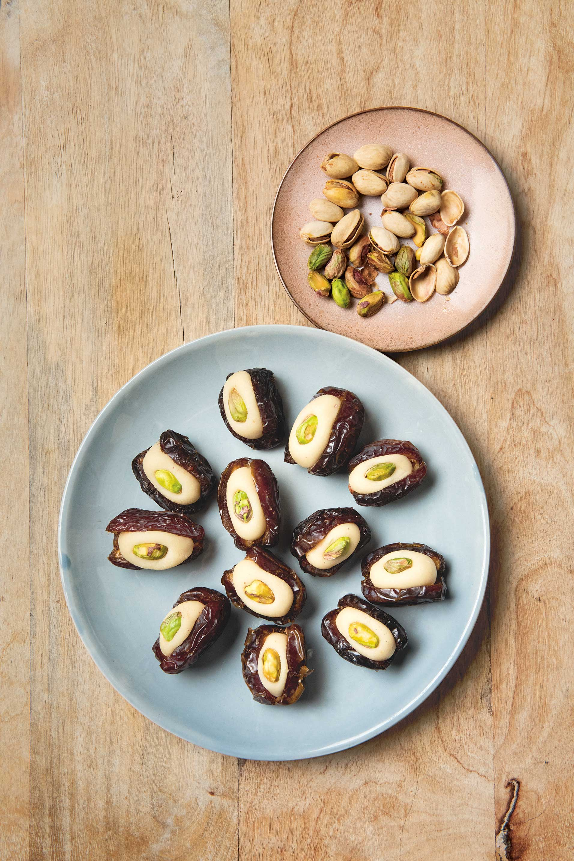 Stuffed Dates from The Jewish Cookbook