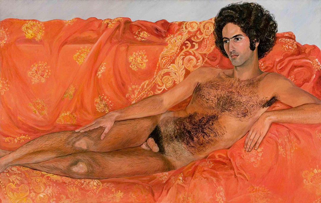 Imperial Nude: Paul Rosano (1977) by Sylvia Sleigh