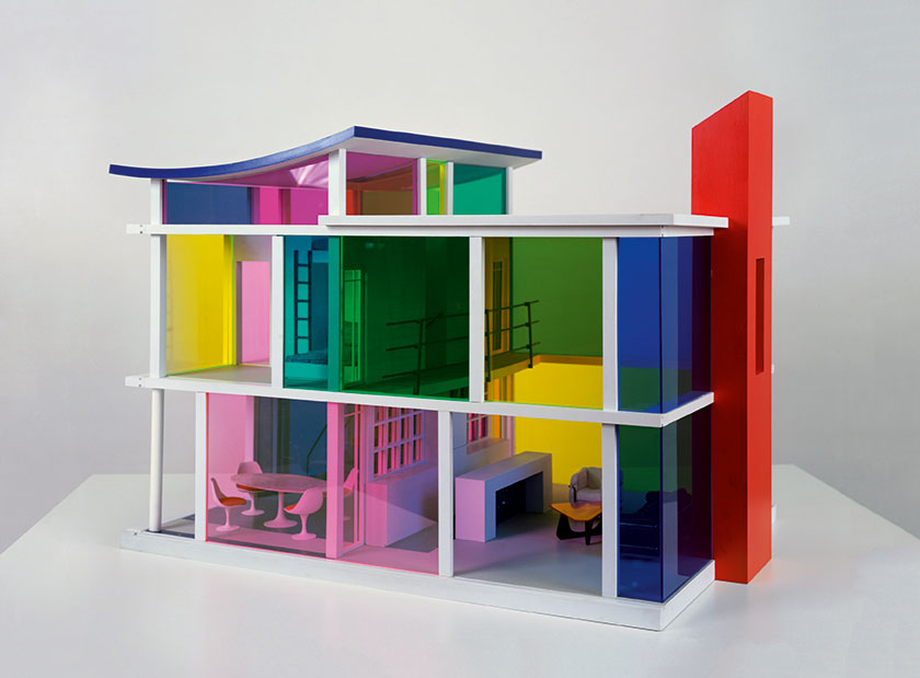 Kaleidoscope House, by Laurie Simmons and Peter Wheelwright for Bozart Toys