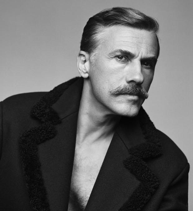 Christoph Waltz, featured in issue no 20 for Autumn and Winter 2014, portrait by Alasdair McLellan. From Fantastic Man