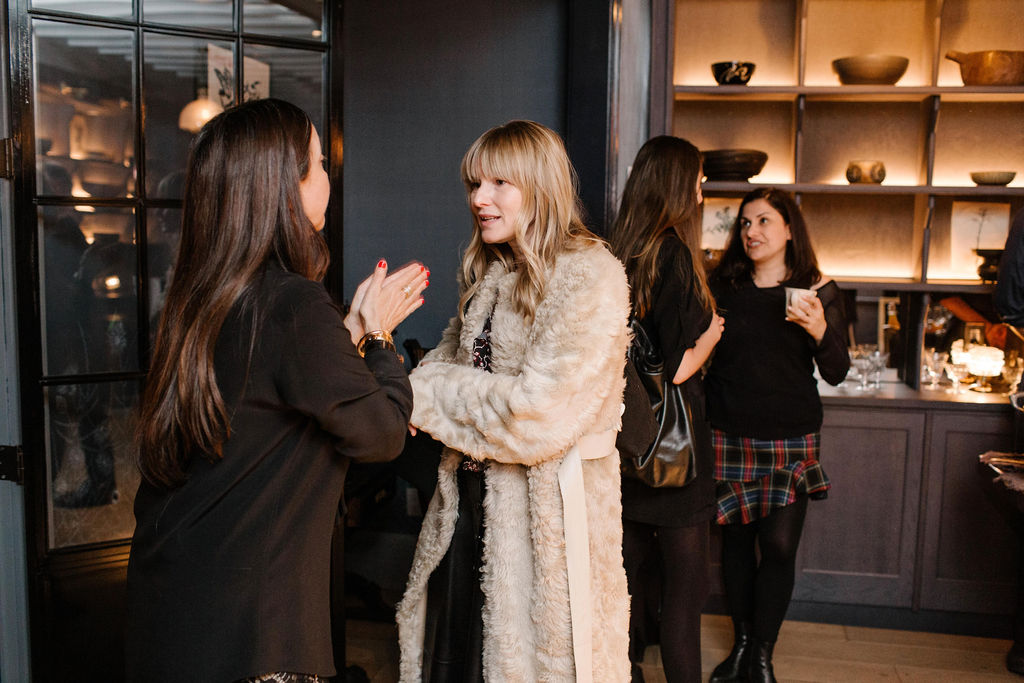 Amy Astley, Editor in Chief, Architectural Digest, at the launch for Interiors: The Greatest Rooms of the Century at Roman and Williams Guild New York