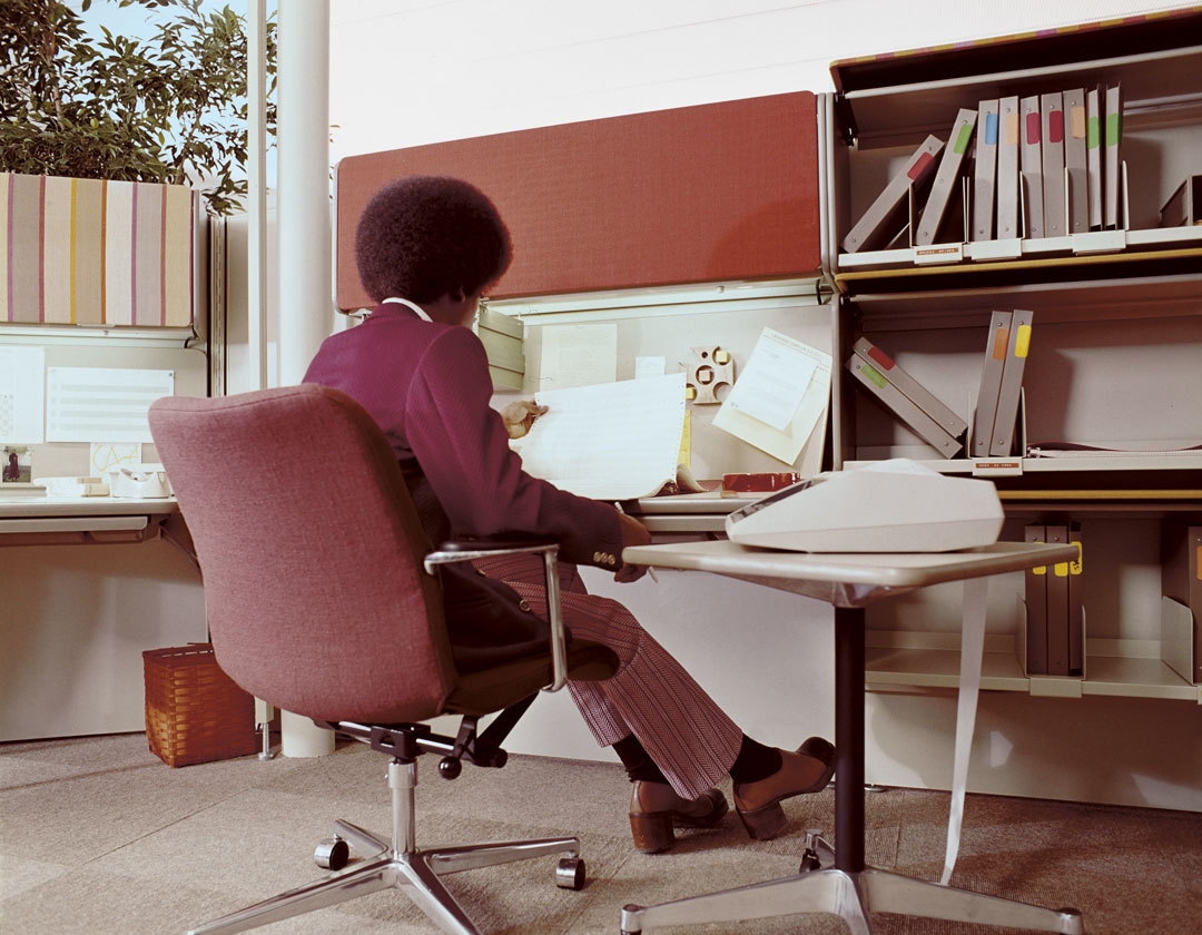 NS 106 Light Office Seating designed by George Nelson, 1971