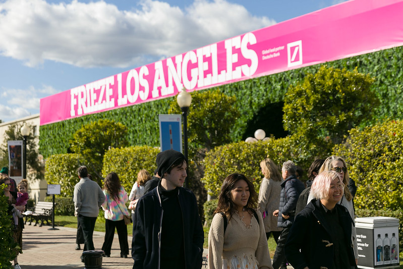 Frieze Los Angeles. Photo by Mark Blower. Courtesy of Mark Blower/Frieze.