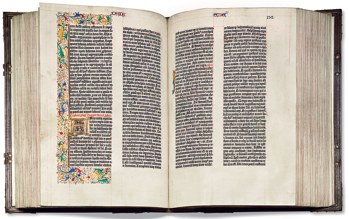 It s the gutenberg bible s birthday design agenda for Buromobel hunenberg