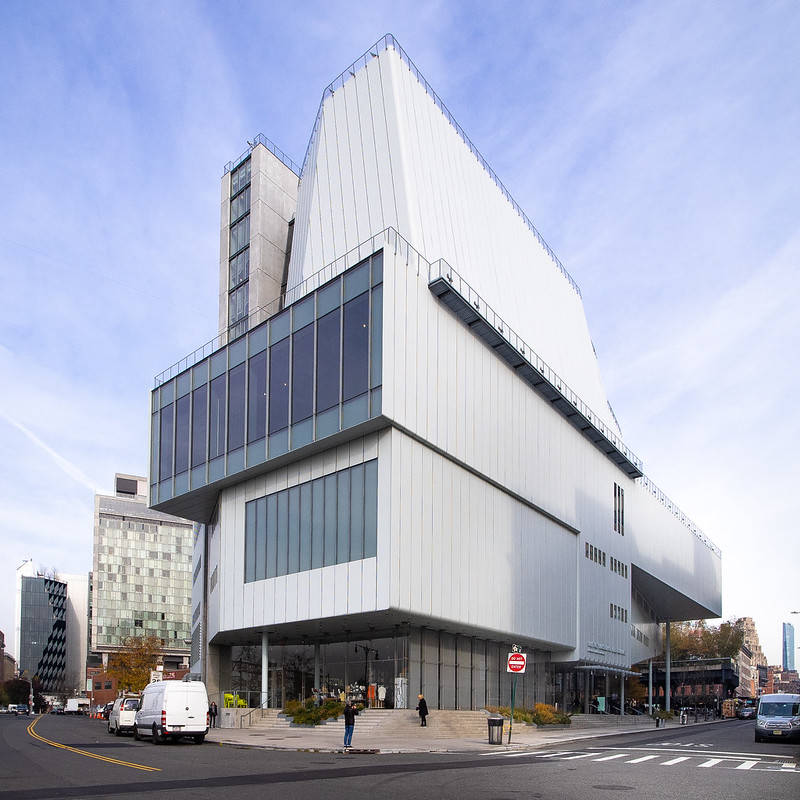 The Whitney Museum of American Art. Photograph by Ajay Suresh. Creative Commons license