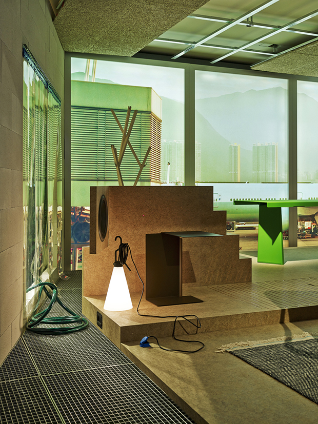 Room One, Life Space, from Konstantin Grcic: Panorama