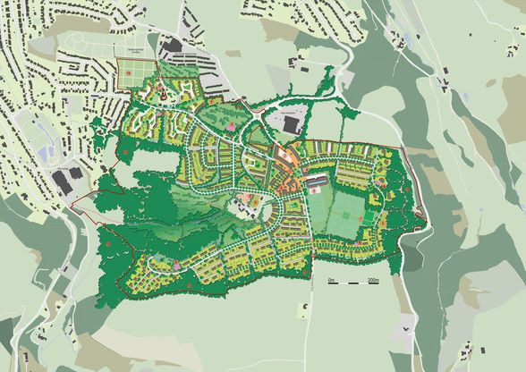 Plans for South Ilfracombe New Community, Devon