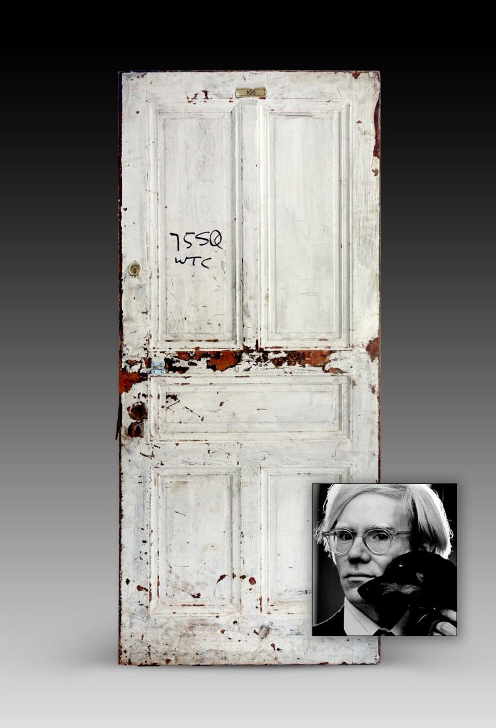 Warhol and Pollock's Chelsea Hotel doors are up for sale
