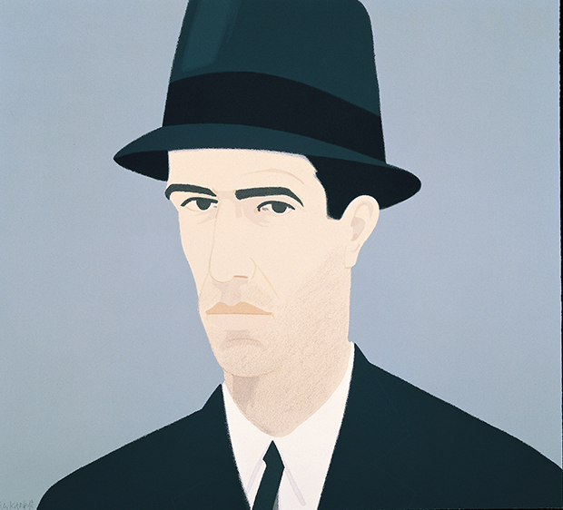 Passing (1990) by Alex Katz. From Alex Katz