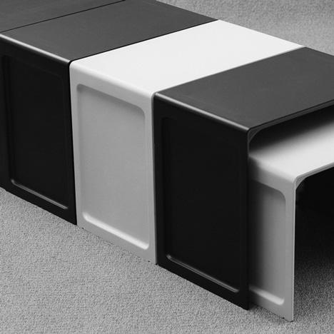 Vits Reissues Dieter Rams Noble Plastic Side Table