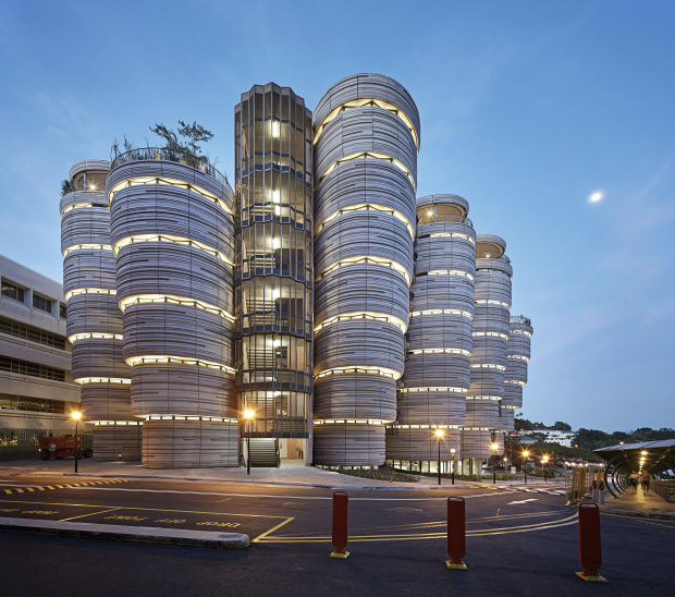The Learning Hub, Singapore by Heatherwick Studiok. Photograph by Hufton and Crow