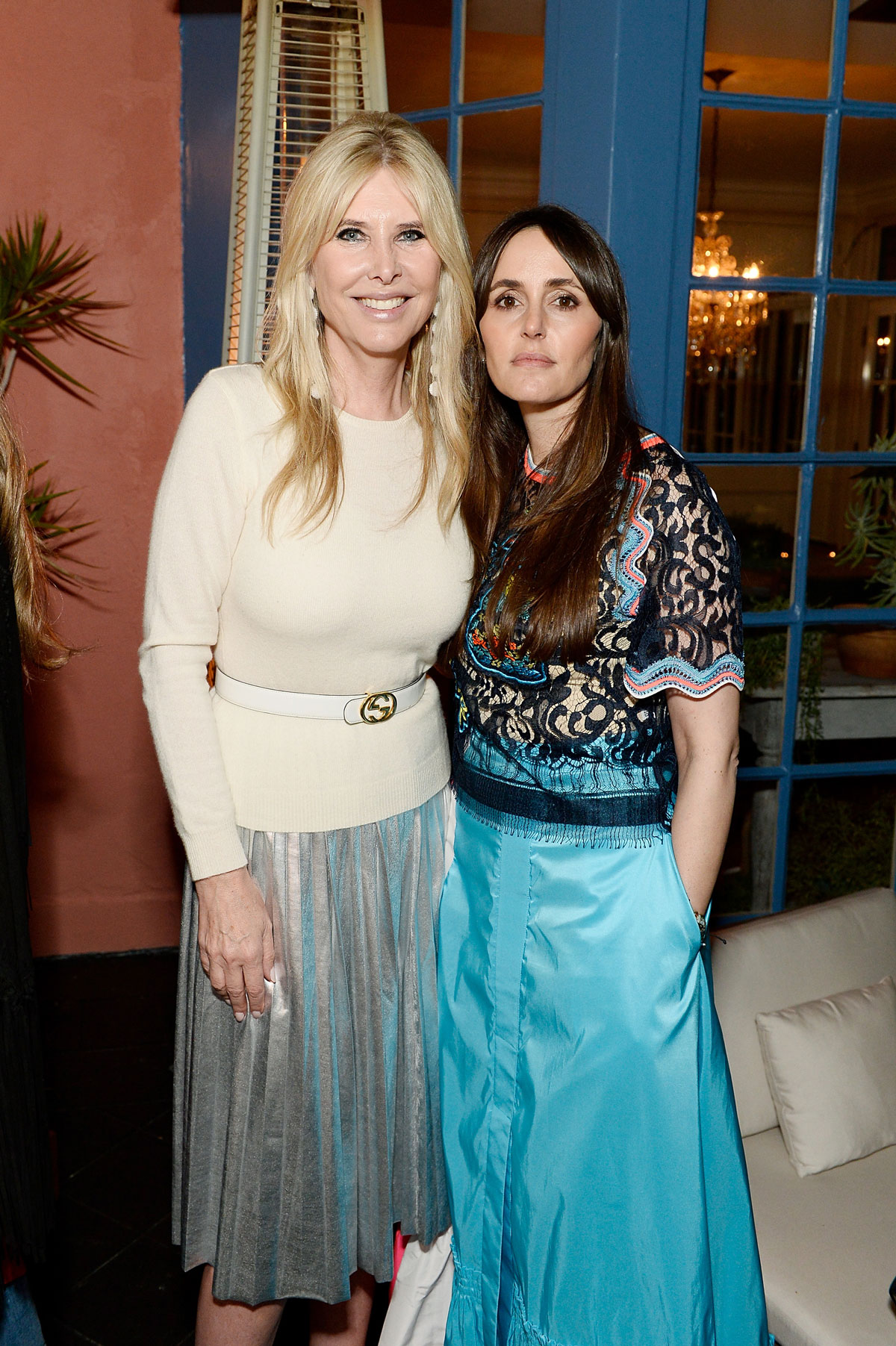 Irena Medavoy and Tania Fares celebrate the launch of London Uprising Fifty Fashion Designers One City on April 18, 2017 in Los Angeles, California. (Photo by Stefanie Keenan/Getty Images for Tania Fares)