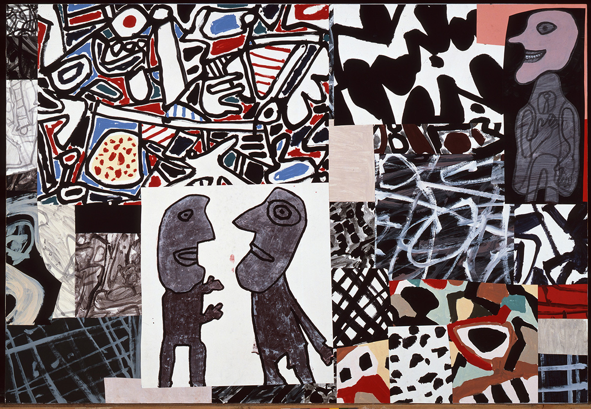 Les commentaires, May 24, 1978, by Jean Dubuffet