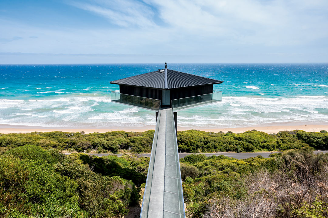These waterside homes are perfect - so long as you like heights!