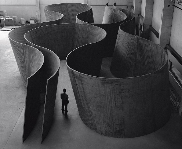Inside Out (2013) by Richard Serra
