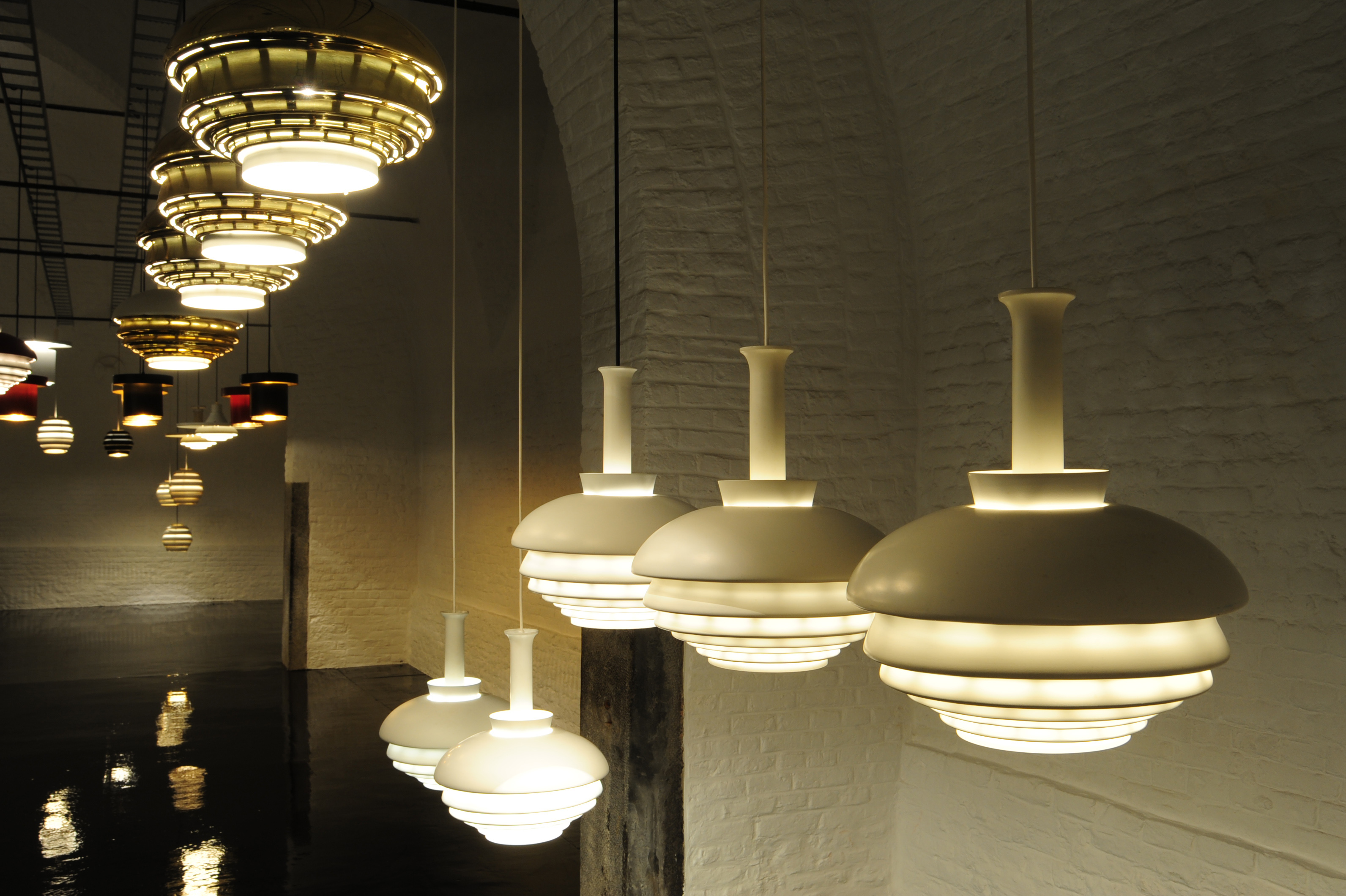 Alvar Aalto: Lightings, at Le Grand Hornu