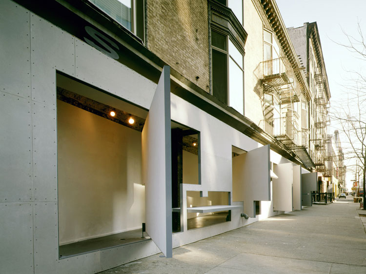 Storefront for Art and Architecture, New York, by Steven Holl and Vito Acconci