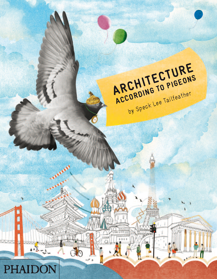 Architecture According to Pigeons cover, by Natsko Seki