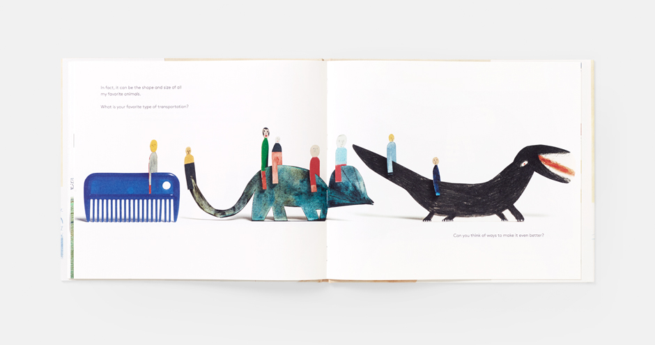 A spread from Laura's new Phaidon book, A World of Your Own
