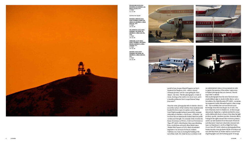 A spread from Trevor Paglen