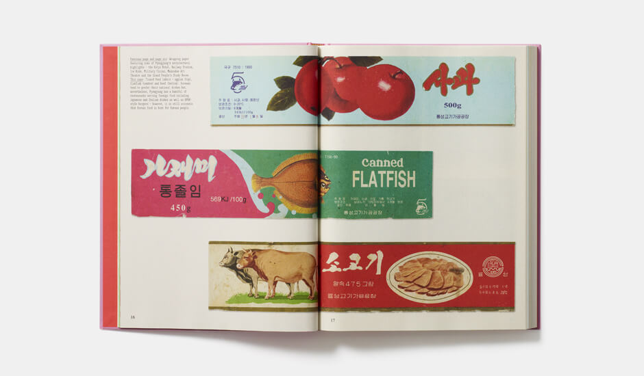 A spread from Made in North Korea