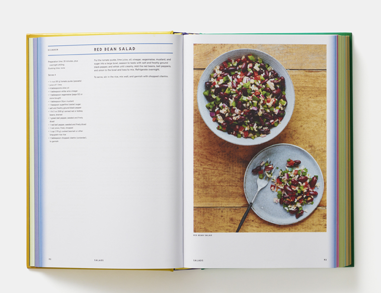 A spread from Vegan: The Cookbook