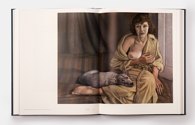 A spread from our new Lucian Freud book