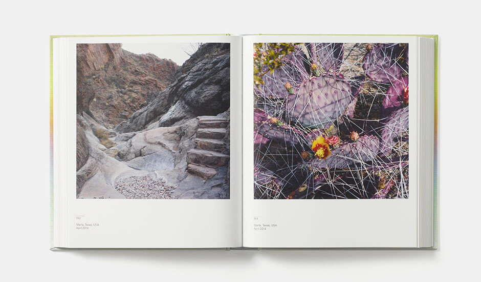 A spread from Spectrum by John Pawson