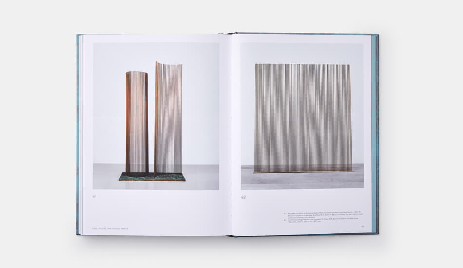 A spread from Bertoia: The Metal Worker