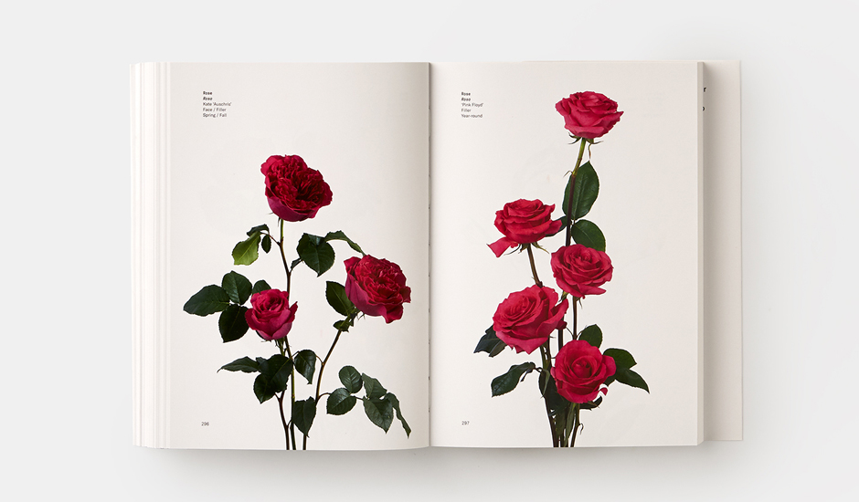 A spread from Putnam & Putnam's Flower Color Guide