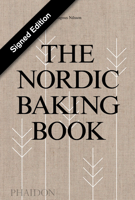 The Nordic Baking Book signed by Magnus Nilsson