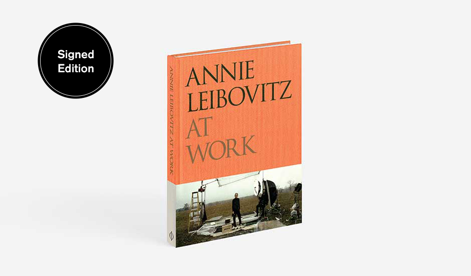 For a short time signed copies of Annie Leibovitz At Work are available in our store