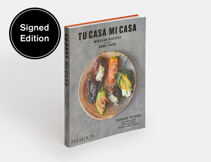 Signed copies of Tu Casa Mi Casa are available in our store
