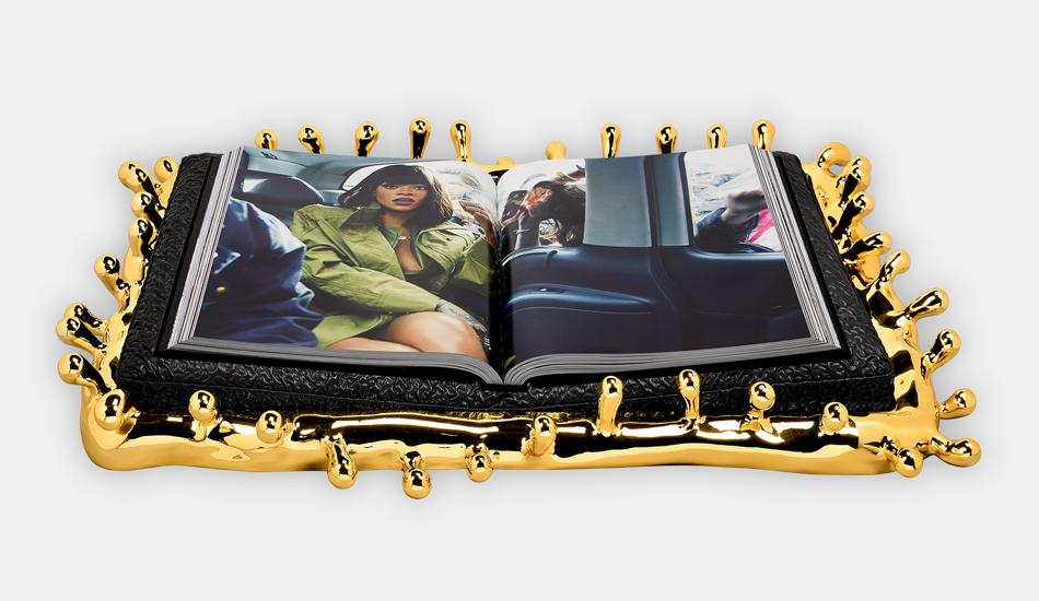 Afbeeldingsresultaat voor limited edition luxury boek van rihanna