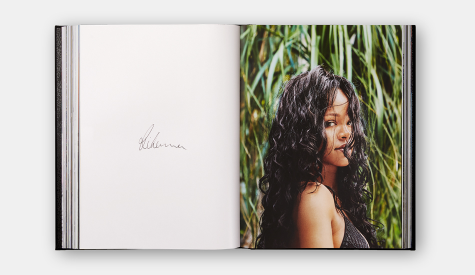 A spread from Rihanna