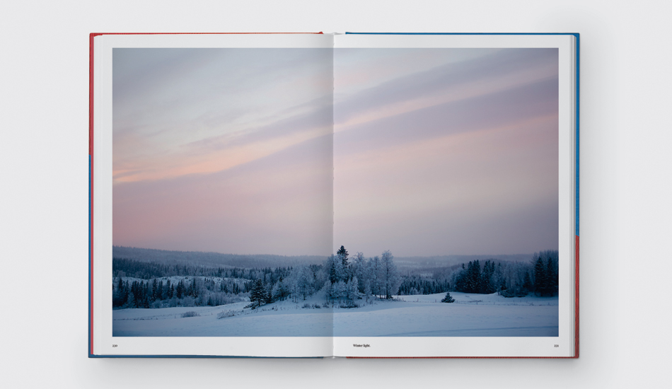 A spread from Fäviken: 4015 Days, Beginning to End