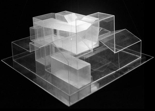 A model of reMIX Studio's plans